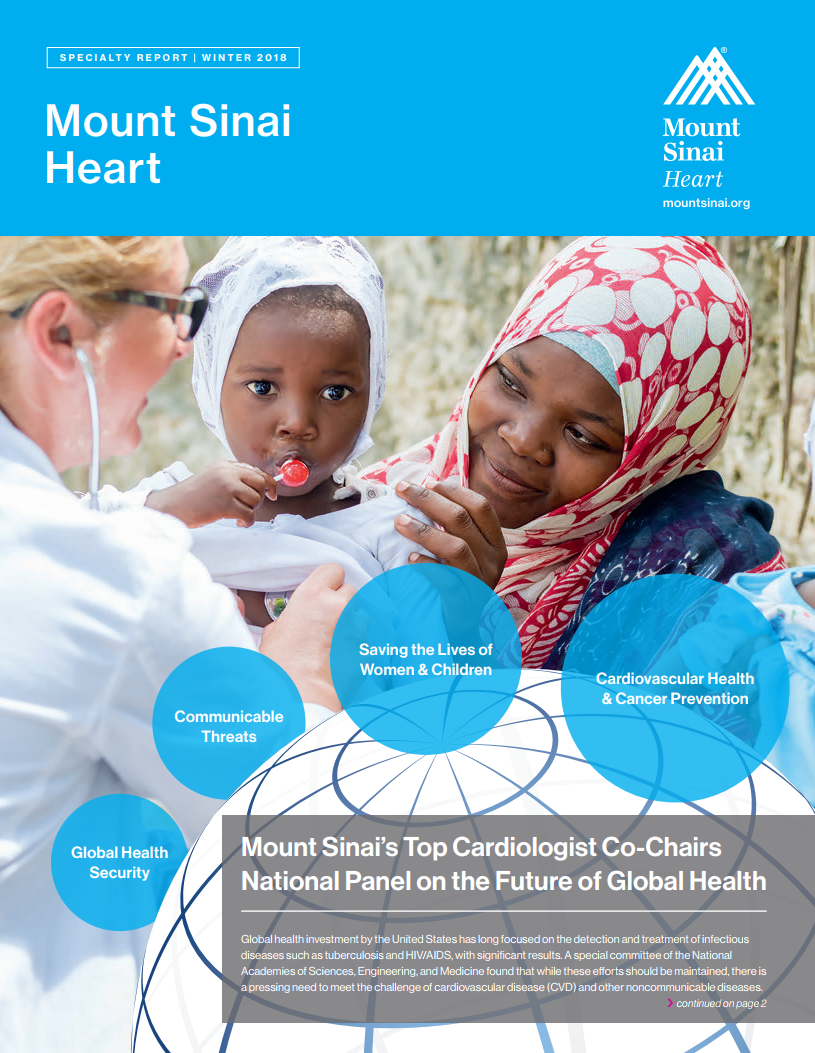 2018 Mount Sinai Heart Specialty Report