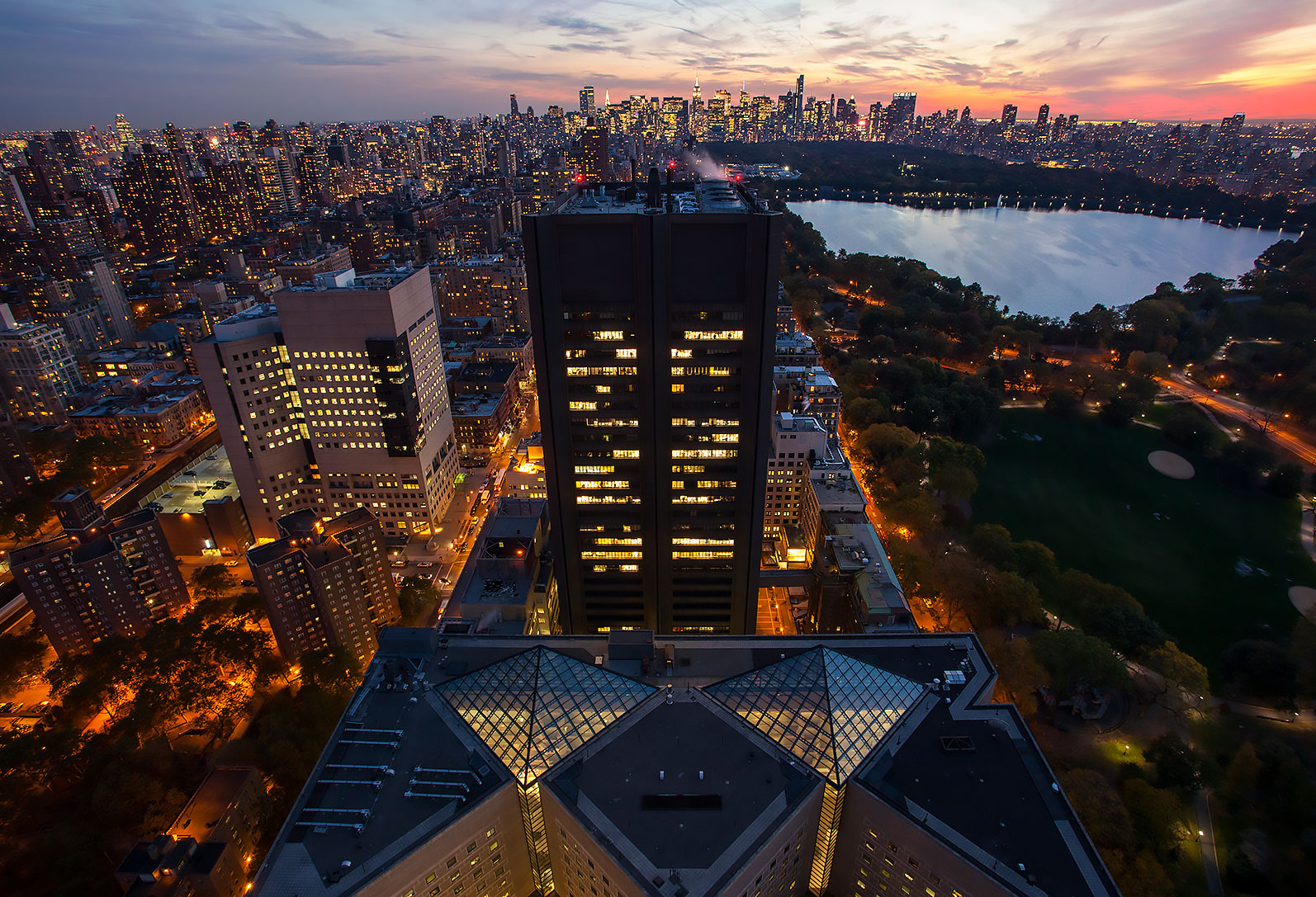 Aerial Mount Sinai Hospital Don Hammerman