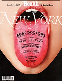 NY Mag Best Doctors 2015