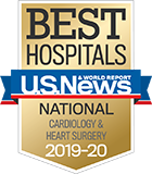 2019-20 U.S. News National Best Cardiology & Heart Surgery